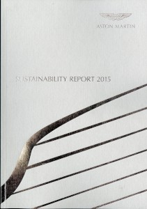 Aston Martin Sustainability Report 2015
