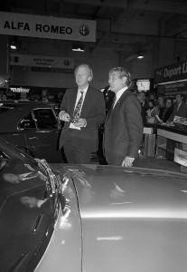 Black and White Negative Strips:Earls Court Motor Show.V8 Saloon.October 15-25,1975. Sheet 12.