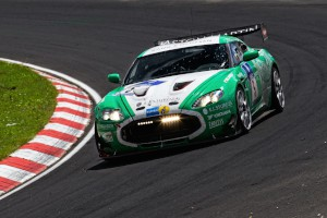 CD-ROM: CD Containing 19 images of Aston Martins from the Nurburgring 24 Hours race, June 25-26, 2011.