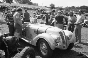 Black and White Negative Strips-Roger Stowers photographs-Prescott, VSCC Meeting 1975,August,10th.