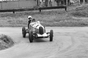 Black and White Negative Strips-Roger Stowers photographs-Prescott, VSCC Meeting 1975,August,10th.No Aston Martin cars in set.