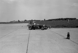 Black and White Negative Strips-Roger Stowers photographs-AMOC North Weald Sprint, 21 June 1975.
