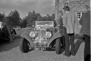 Black and White Negative Strips-Fort Belvedere AMOC Autumn Concours.1975,October,12th.Roger Stowers Collection.