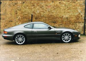 Press Photograph of an Aston Martin DB7 Vantage coupe
