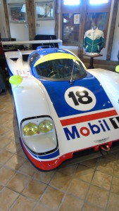 Aston Martin Group C Sports Racing car, chassis AMR1/01 - the prototype that was also raced, 1989.