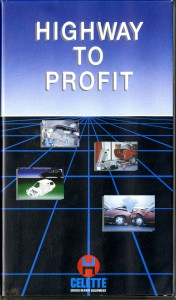 VHS 'Highway to Profit': promotional tape produced by Celette crash repair equipment