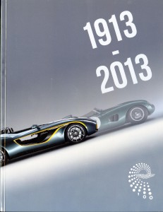 Aston Martin Centenary Celebration Programme 2013