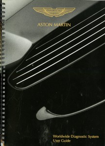 User guide for the Aston Martin Worldwide Diagnostic System, 2001