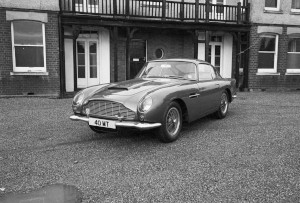 Black and White negatives. DB4GT,40 MT, V8 Saloon,KAL 368N,DB5C GYM 63C.