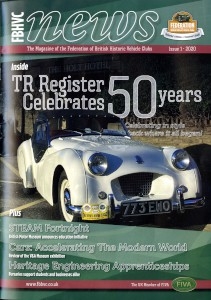 Magazine of the Federation of British Historic Vehicle Clubs, 2020, Issue 1.