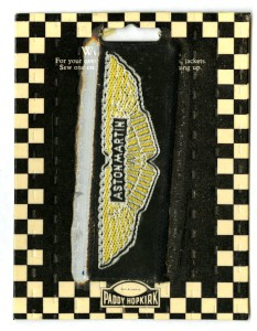Patch with AM wings, still in packaging