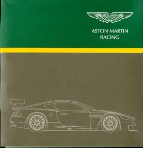 Aston Martin Racing Press CD, 2005 Le Mans