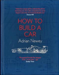 Book - 'How to Build a Car' by Adrian Newey, 2017