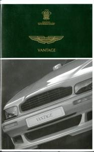VHS videotape: 'Vantage', on the Aston Martin V8 Vantage (model 1993-1999)