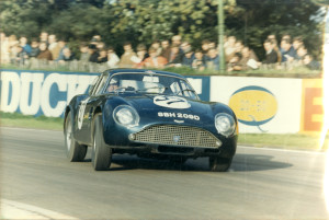 Large colour print photograph of a DB4 GT Zagato, SBH 209D (DB4GT-0193R).