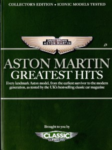 'Aston Martin - Greatest Hits', and special edition of Classic & Sports Car, 2018