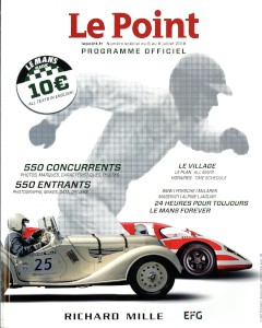 Programme for the 2018 Le Mans Classic