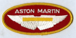 Patch with AM wings and name