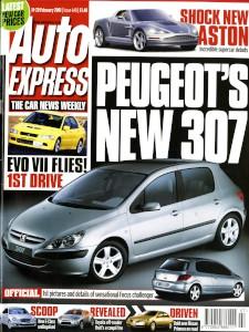 'Autoexpress' Magazine, 14th February 2001 - 'Shock New Aston'