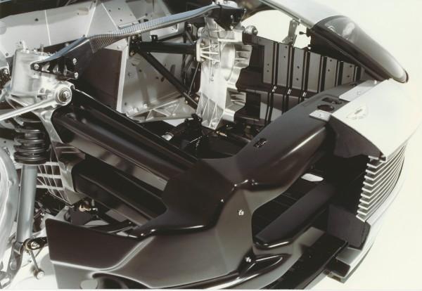 image V12 Vanquish Engine Bay