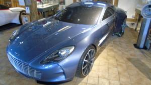1:1 Design verification model for the Aston Martin One-77