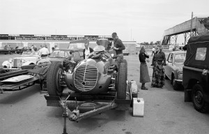 Black and White Negative Strips-Roger Stowers photographs-Silverstone, VSCC Meeting 1975,July,26th.