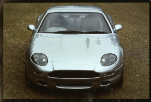 Press Photograph of an Aston Martin DB7 i6 prototype