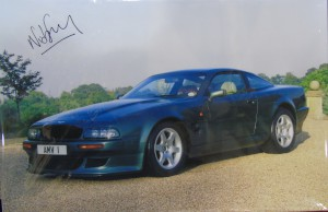 Unframed stretched canvas print of a V600 Vantage