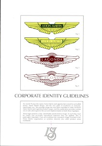 Corporate brand guidelines issued for use of Aston Martin logo