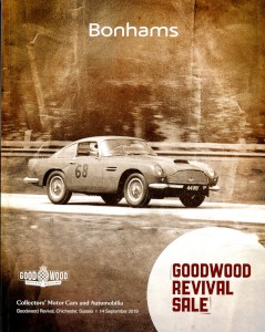 Auction Catalogue: Bonhams Sale at the Goodwood Revival, 14th September 2019