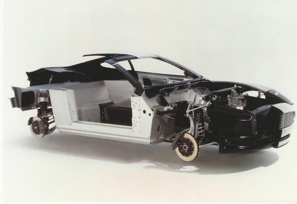 image V12 Vanquish Cutaway Show Car