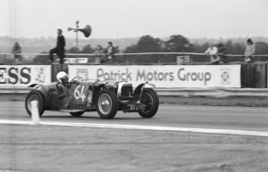 Black and White Negative Strips -1975 August 23rd-Silverstone B.D.C. Meeting.Aston Martin and other historic Sports Cars,all marques.Roger Stowers Collection.