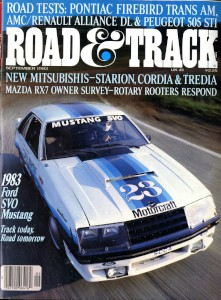 Road and Track Magazine, September 1982 'Aston Martin DB4 GT Zagato'