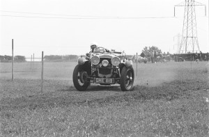 Black and White Negative Strips-Roger Stowers photographs-Corsham VSCC Meeting 1975,May 25th. No Aston Martins in set.