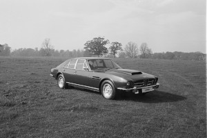 Black and White Negative Strips: Promo Images of Fixed Head, V8 Lagonda.9th October,1975.