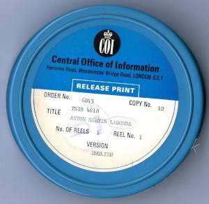Film - 'Aston Martin Lagonda' 1979 Central Office of Information