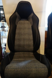 Seat for an Aston Martin Rapide S Hackett edition