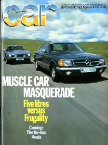 Car Magazine, September 1982 'Clash of the Titans'