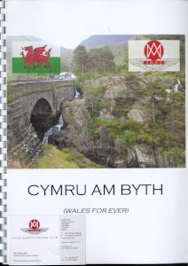 Event programme: AMOC Holland Section trip to Wales, 11-17 June 2014.