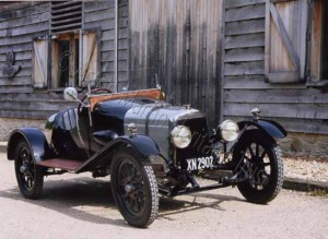 'A3', the third Bamford & Martin Prototype and the oldest Aston Martin still in existence, originally built in 1921