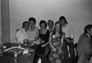 Black and White Negatives.AML Social Club,Lovat Hall, Newport Pagnell.1975, 30th October.