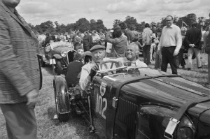 Black and White Negative Strips-Roger Stowers photographs-Oulton Park, VSCC Meeting 1975,June 14th.Ulster CMC 614.