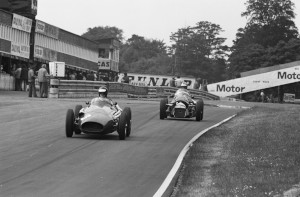 Black and White Negative Strips-Roger Stowers photographs-Oulton Park, VSCC Meeting June 14th,1975.