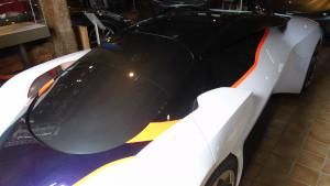 1:1 scale design model for Aston Martin DP-100