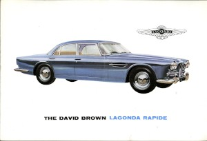 Sales Brochure for the Lagonda Rapide (1961-1964 version)