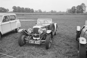 Black and White Negative Strips -Roger Stowers photographs -Corsham VSCC Meeting 1975,May 25th. No Aston Martins in set.