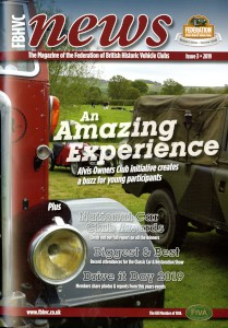 Newsletter of the Federation of British Historic Vehicle Clubs, 2019, Issue 3.
