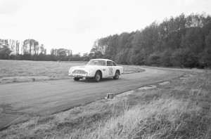 Black and White Negative Strips: AMOC Curborough Sprint, 25th September,1975.