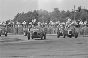 Black and White Negative Strips-Roger Stowers photographs-Silverstone, VSCC Meeting July 26th,1975.