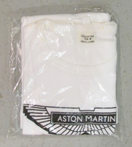 White T-Shirt with black wings logo on front in original packaging
